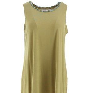 Layers by Lori Goldstein Knit Tank with Print M